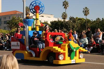 Legoland. 2006 Port of San Diego Big Bay Balloon Parade