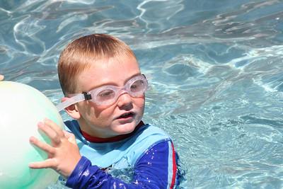 Ryan's Graduation 2006 - Christopher enjoying a swim on Sunday after Grad Day