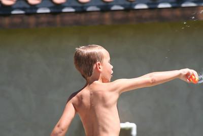 Ryan's Graduation 2006 - Liam enjoying a swim on Sunday after Grad Day