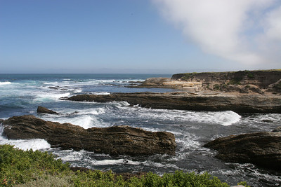View north toward Corallina Cove in Montaña de Oro State Park.