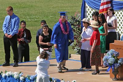 Ryan Roth's Class of 2006 graduation from King City High School (KCHS).