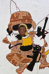 """Christopher """"Seabee"""" Kane at the 2006 Seabee Days"""