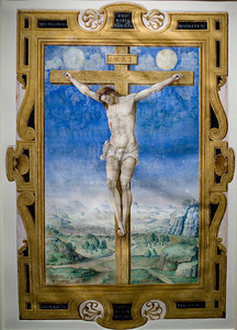 The Crucifixion by Vincent Raymond. The Getty Center.