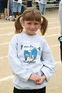 Sydney Kane. 2006 Lutheran elementary school track meet.