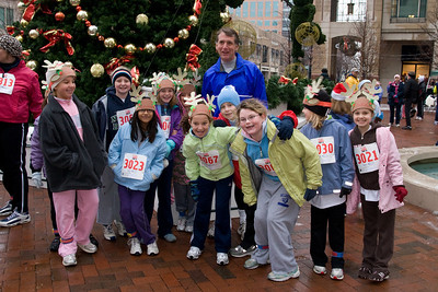 Sydney has been participating twice a week in a before-school program called Girls on the Run. The fall season finished with a 5K run during the 2nd Annual Girls on the Run Reindeer Romp. (Image taken with Canon EOS 20D at ISO 800, f5.6, 1/60 sec and 21mm)
