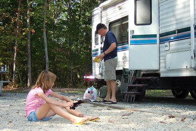 Getting ready to head home after camping and boating at Lake Anna State Park. (Image taken with FinePix F10 at ISO 200, f3.2, 1/419 sec and 10.4mm)