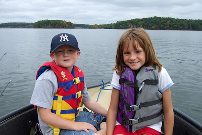 While Kathy headed back to California for a visit, Pat, Sydney and Christopher went camping and boating at Lake Anna State Park. (Image taken with FinePix F10 at ISO 80, f4.0, 1/340 sec and 8mm)