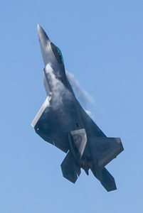 F-22 Raptor. 2007 Point Mugu Air Show (Image taken with Canon EOS-1D at ISO 200, f4.0, 1/4000 sec and 225mm)