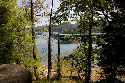 View from our camp site at the beautiful Edgar Evins State Park, which is located about an hour east of Nashville, Tennessee. (Image taken with Canon EOS 20D at ISO 200, f10.0, 1/400 sec and 17mm)