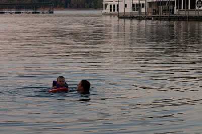 Pat and Christopher enjoying a swim at Edgar Evins State Park, which is located about an hour east of Nashville, Tennessee. (Image taken with Canon EOS 20D at ISO 400, f9.0, 1/250 sec and 70mm)