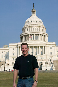 Pat in front of the United States Capitol