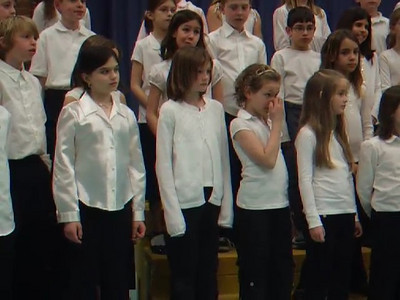 VIDEO. Yellow Submarine by The Beatles, as sung by the Taylor Elementary School 4th Grade Chorus