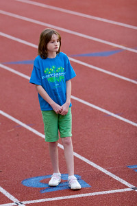 Sydney competed in the 2008 Arlington County Youth Track and Field Meet where she placed 3rd in the standing long jump, 4th in the 200m dash and 5th in the 400m run. (Image taken with Canon EOS 20D at ISO 400, f2.8, 1/160 sec and 130mm)