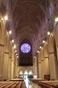 While Dad stayed at the house to enjoy some peace and quiet, Pat took his mother, Mary Clare, to the Washington National Cathedral for a tour. (Image taken with FinePix F10 at ISO 800, f2.8, 1/5 sec and 8mm)