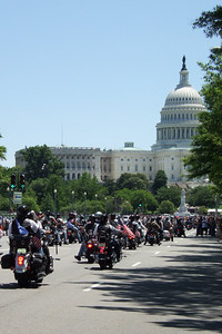 We enjoyed the Memorial Day weekend by heading into DC, where we visited the museums, watched the 21st annual Rolling Thunder Motorcycle Rally cruise through town, and sat on the West Lawn of the U.S. Capitol for PBS's National Memorial Day Concert 2008. (Image taken with FinePix F10 at ISO 200, f8.0, 1/480 sec and 20.1mm)