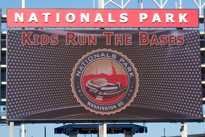 """""""Kids Run the Bases"""" at Nationals Park. (Image taken with FinePix F10 at ISO 100, f5.0, 1/350 sec and 24mm)"""