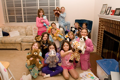 Celebrating Sydney's 10th birthday on the weekend following her birthday. (Image taken with Canon EOS 20D at ISO 800, f5.0, 1/60 sec and 17mm)