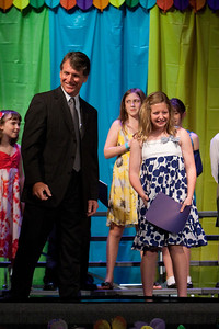 Claire. Taylor Elementary 5th Grade Graduation (15 Jun 2009) (Image taken with Canon EOS 20D at ISO 1600, f2.8, 1/250 sec and 105mm)