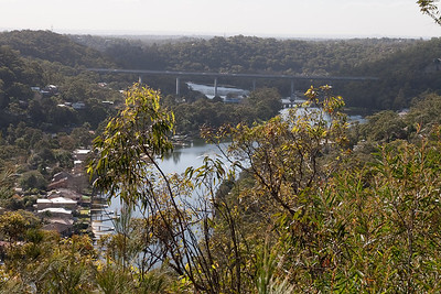 View back to the new Woronora bridge. Australia (01 Jul 2009) (Image taken with Canon EOS 20D at ISO 200, f10.0, 1/250 sec and 44mm)
