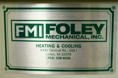 Foley Mechanical, Inc. installed our new Triangle Tube Prestige 110 boiler and Smart 50 indirect fired water heater. Highly recommended. (Image taken by Patrick R. Kane with Canon EOS-1DS at ISO 400, f4.0, 1/25 sec and 40mm)