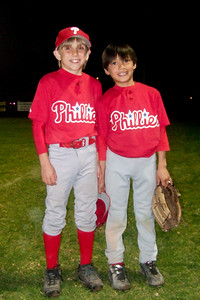 Hunter and Eli are already playing baseball, while Christopher's season has just begun with practices. Port Hueneme, California (18 Mar 2009) (Image taken with FinePix F10 at ISO 800, f2.8, 1/100 sec and 8mm)