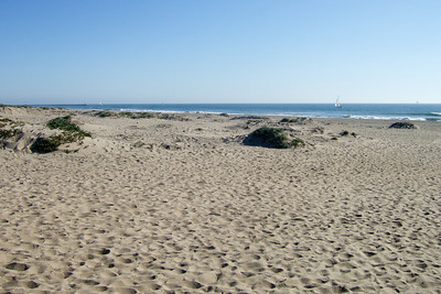 Checking out the beach at the Embassy Suites in Oxnard, California (17 Mar 2009) (Image taken with FinePix F10 at ISO 80, f5.6, 1/600 sec and 8mm)