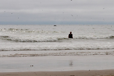 A humpback whale just offshore in Pismo Beach (01 Aug 2009) (Image taken with Canon EOS 20D at ISO 400, f20.0, 1/1250 sec and 70mm)
