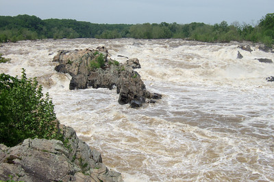 Great Falls Park (09 May 2009) (Image taken with FinePix F10 at ISO 80, f6.4, 1/450 sec and 12.2mm)