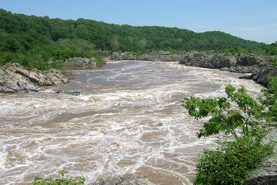 Great Falls Park (09 May 2009) (Image taken with FinePix F10 at ISO 80, f5.0, 1/450 sec and 8mm)