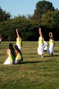 Half-time entertainment at the 2009 America's Polo Cup Fall Classic on the National Mall at West Potomac Park. (Image taken by Sydney J. Kane on 19 Sep 2009 with FinePix F10 at ISO 200, f8.0, 1/320 sec and 24mm)