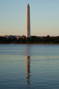 After the polo match we took a long walk along West Potomac Park. Sydney liked the Washington Monument and its reflection on the tidal basin. (Image taken by Sydney J. Kane on 19 Sep 2009 with FinePix F10 at ISO 200, f4.7, 1/170 sec and 20.1mm)