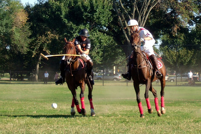 The weather was beautiful, so we spent the afternoon at West Potomac Park on the National Mall watching the 2009 America's Polo Cup Fall Classic matches between the U.S. Polo Team, American/India Pro-Am Team and the Washington Patriots. (Image taken by Sydney J. Kane on 19 Sep 2009 with FinePix F10 at ISO 200, f5.0, 1/450 sec and 24mm)