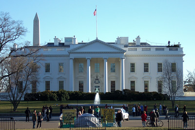 White House (06 Mar 2010) (Image taken by Sydney J. Kane on 06 Mar 2010 with FinePix F10 at ISO 100, f5.0, 1/209 sec and 24mm)