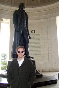 Chris Giacomazzi at the Thomas Jefferson Memorial (05 Mar 2010) (Image taken by Patrick R. Kane on 05 Mar 2010 with FinePix F10 at ISO 200, f2.8, 1/150 sec and 8mm)