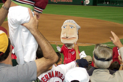 The Kinhaven School teachers and staff enjoyed a trip to the ball park to watch the Washington Nationals play the Florida Marlins. Unfortunately, the Nats lost 1 to 3; however, that didn't stop everyone from having a great time. (Image taken by Kathy T. Kane on 10 Sep 2010 with FinePix F10 at ISO 800, f5.0, 1/200 sec and 24mm)