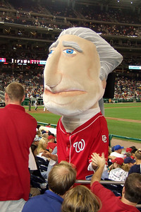 The Kinhaven School teachers and staff enjoyed a trip to the ball park to watch the Washington Nationals play the Florida Marlins. Unfortunately, the Nats lost 1 to 3; however, that didn't stop everyone from having a great time. (Image taken by Kathy T. Kane on 10 Sep 2010 with FinePix F10 at ISO 400, f3.2, 1/160 sec and 10.4mm)