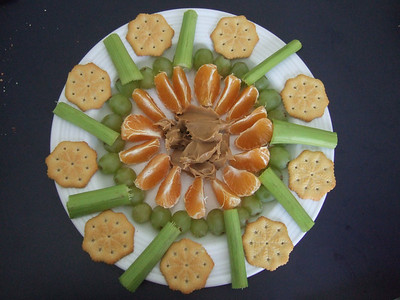 Snack platter made by Sydney and Christopher (Image taken by Sydney J. Kane on 21 Feb 2010 with FinePix F10 at ISO 800, f2.8, 1/104 sec and 8mm)