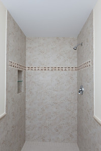 Our new 1st floor shower minus the frameless glass that will be installed in September. (Image taken by Patrick R. Kane on 21 Aug 2011 with Canon EOS-1D Mark III at ISO 200, f8.0, 1/60 sec and 17mm)