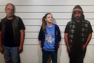 Sydney in a line-up at the National Museum of Crime & Punishment (Image taken by Patrick R. Kane on 24 Sep 2011 with Canon EOS-1D Mark III at ISO 1600, f3.2, 1/40 sec and 26mm)