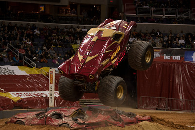 Iron Man. Monster Jam at the Verizon Center (Image taken by Patrick R. Kane on 29 Jan 2011 with Canon EOS-1D Mark III at ISO 400, f2.8, 1/250 sec and 125mm)