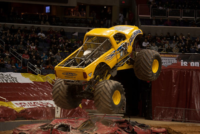 Full Boar. Monster Jam at the Verizon Center (Image taken by Patrick R. Kane on 29 Jan 2011 with Canon EOS-1D Mark III at ISO 400, f2.8, 1/250 sec and 135mm)
