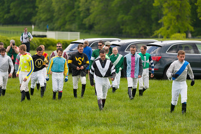 The jockeys get ready for the 86th running of the Virginia Gold Cup steeplechase race at Great Meadow in The Plains, Virginia (Image taken by Patrick R. Kane on 07 May 2011 with Canon EOS-1D Mark II at ISO 100, f2.8, 1/1250 sec and 170mm)