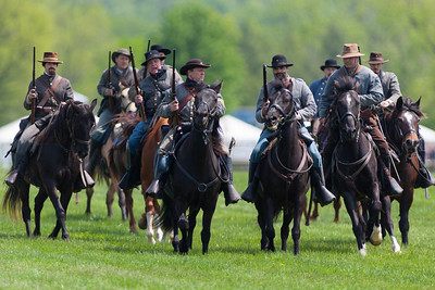 The Black Horse Cavalry Demonstration at the 86th running of the Virginia Gold Cup steeplechase race at Great Meadow in The Plains, Virginia (Image taken by Patrick R. Kane on 07 May 2011 with Canon EOS-1D Mark III at ISO 100, f2.8, 1/1600 sec and 400mm)