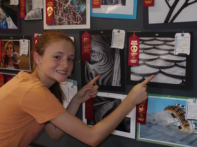 Sydney's 'Zebra's Eye' photo won a 2nd Place Premium Ribbon in teen B&W close-up photos. 2012 Arlington County Fair, Photography (Department VI), Teen (Division T), Black and White (Section C), Close-up (Class 832)  Sydney's 'Roof to Nowhere' photo won a 2nd Place Premium Ribbon in teen B&W abstract/pattern photos. 2012 Arlington County Fair, Photography (Department VI), Teen (Division T), Black and White (Section C), Abstract or Pattern (Class 828)  (Image taken by Patrick R. Kane on 11 Aug 2012 with XZ-1 at ISO 200, f2.0, 1/50 sec and 9.9mm)