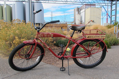 Every employees receives a bicycle on their one year employment anniversary at New Belgium Brewing, Fort Collins, CO. (Image taken by Patrick R. Kane on 07 Nov 2012 with Canon PowerShot G12 at ISO 0, f4.0, 1/320 sec and 6.1mm)