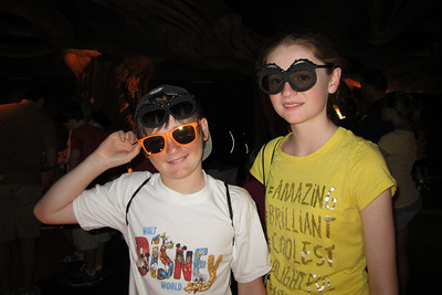 Christopher and Sydney at Disney's Animal Kingdom (Image taken by Kathy L. Kane on 28 May 2012 with Canon PowerShot ELPH 100 HS at ISO 0, f2.8, 1/15 sec and 5mm)