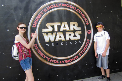 Sydney and Christopher at Disney's Hollywood Studios (Image taken by Kathy L. Kane on 26 May 2012 with Canon PowerShot ELPH 100 HS at ISO 0, f2.8, 1/80 sec and 5mm)