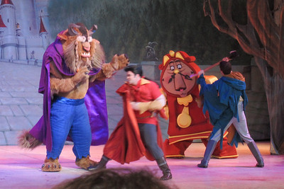 The Beauty and the Beast show at Disney's Hollywood Studios (Image taken by Kathy L. Kane on 26 May 2012 with Canon PowerShot ELPH 100 HS at ISO 0, f5.9, 1/60 sec and 20mm)