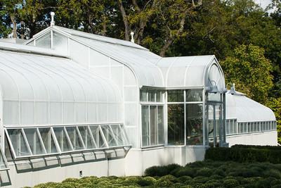 The greenhouse at Hillwood Estate, Museum & Gardens (Image taken by Patrick R. Kane on 29 Sep 2012 with Canon EOS-1D Mark III at ISO 400, f10.0, 1/1000 sec and 70mm)