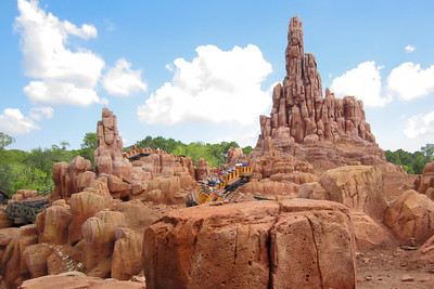 Big Thunder Mountain Railroad at Disney's Magic Kingdom (Image taken by Kathy L. Kane on 27 May 2012 with Canon PowerShot ELPH 100 HS at ISO 0, f2.8, 1/640 sec and 5mm)